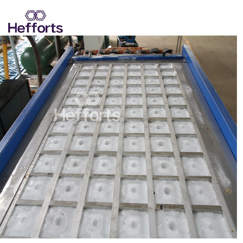 hot cambient temperature high performance block ice machine