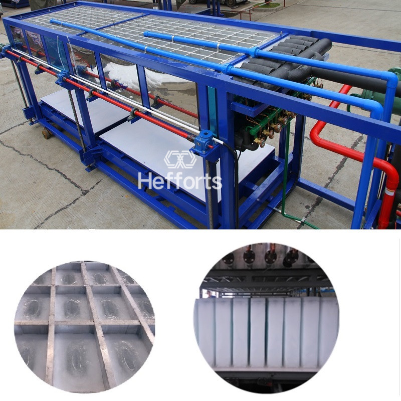10tons hot sale industral water cooling block ice making machine
